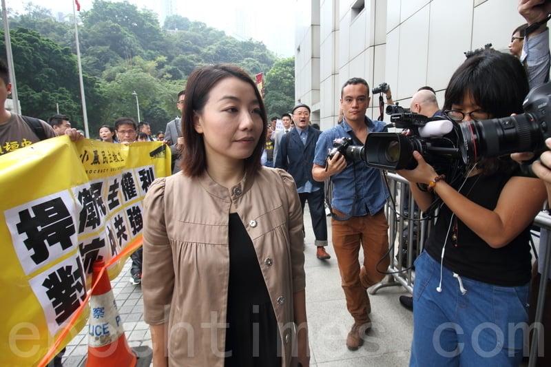 劉小麗被質疑宣誓無效 法官撤選舉呈請