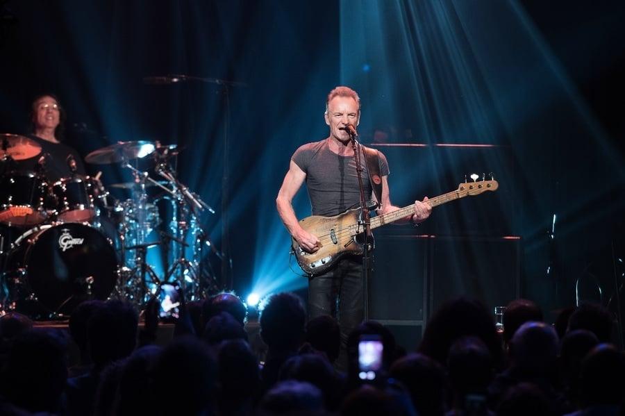 Sting舉行慈善演唱會悼念巴黎恐攻