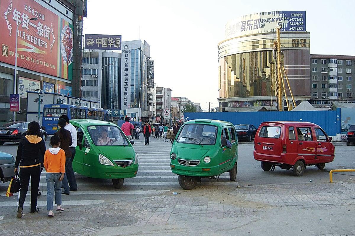 瀋陽街頭。(Kounosu/維基百科)