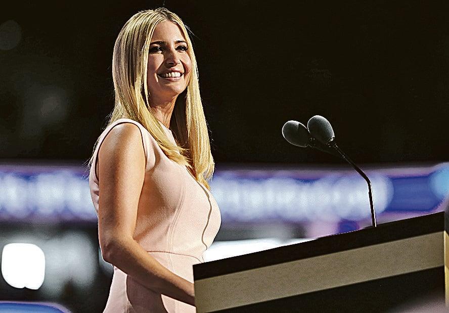 特朗普的大女兒伊萬卡(Ivanka)。(Joe Raedle/Getty Images)