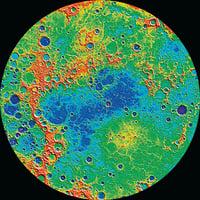 水星地殼活動頻繁驚現1千公里長大峽谷