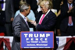 特朗普提議法拉奇為駐美大使 英國婉拒