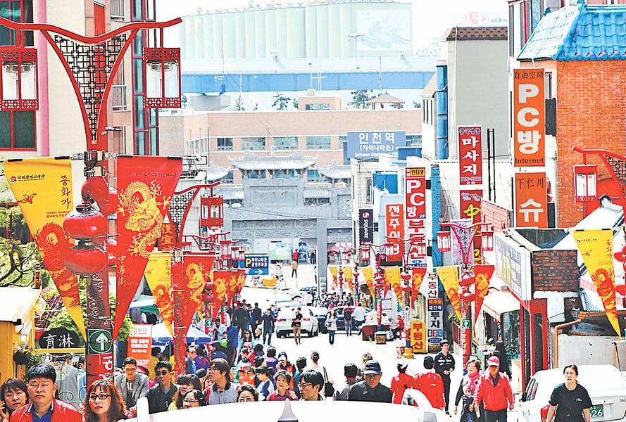 仁川舊城新區配合 發展迅速