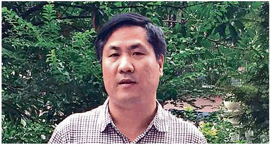 湖南長沙執業律師文東海接受《大紀元》記者專訪。(大紀元)