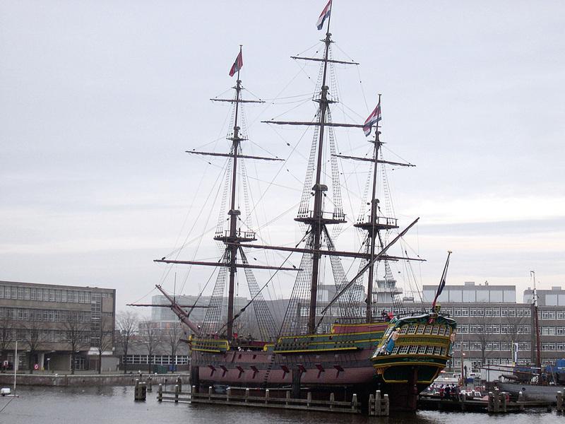 荷蘭人的尊嚴和荷蘭的商船
