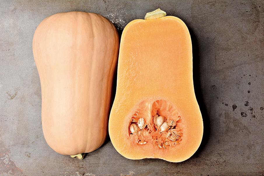 常用來做南瓜餅的中國南瓜(Cucurbita moschata)。