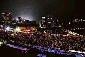 韓民眾大示威 寒風中怒吼「朴槿惠下台」