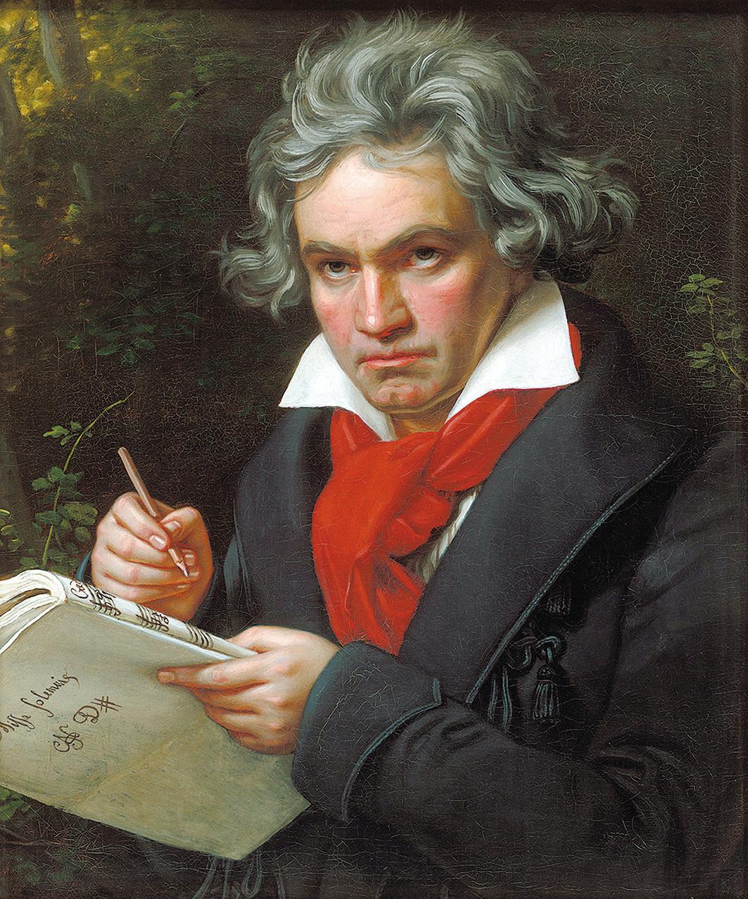 貝多芬肖像,約瑟‧卡爾‧施蒂勒(Joseph Karl Stieler)繪。(維基百科/公共領域)