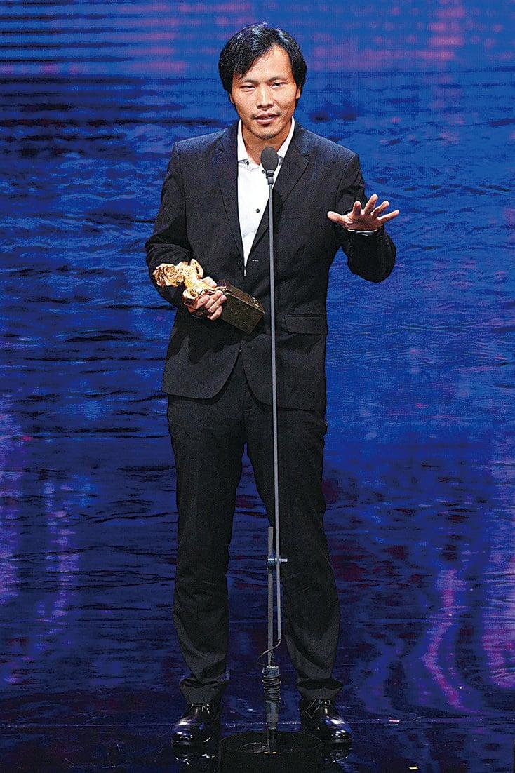 應亮以《九月二十八日.晴》獲得金馬獎「最佳劇情短片獎」。(網絡圖片)