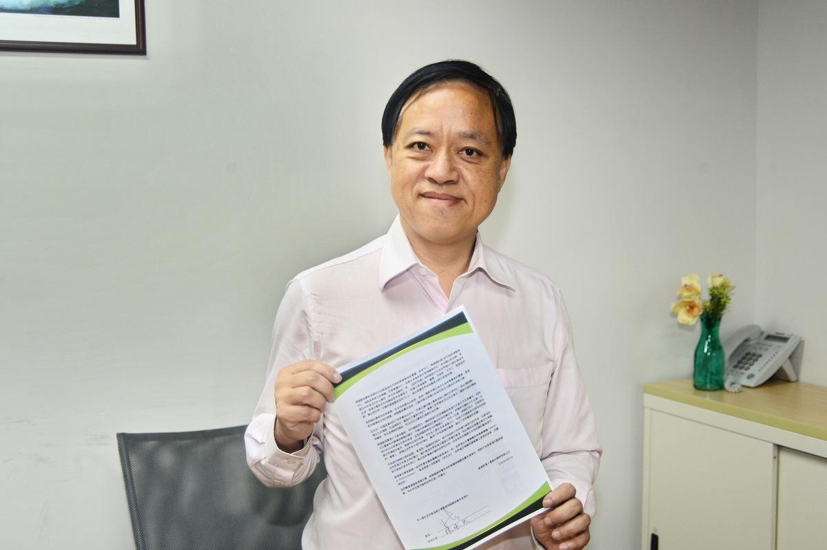 香港西貢區議會區議員林咏然。(宋祥龍/大紀元)