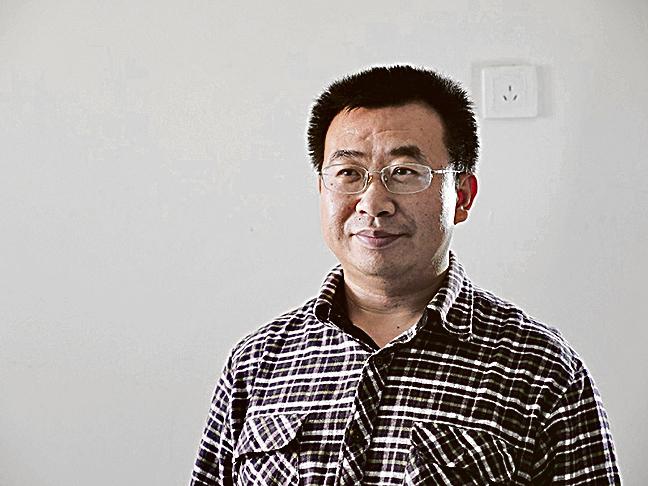 中國人權律師江天勇。(大紀元)