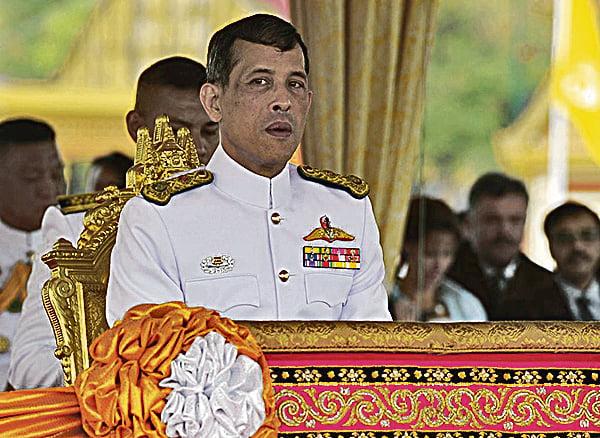 泰國國家立法議會主席29日上午宣佈,王儲瓦吉拉隆功將繼承王位,成為泰國新國王。(AFP)