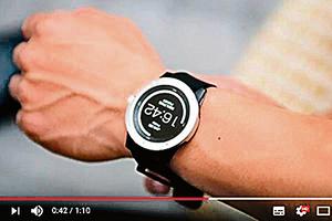全球首創以體熱驅動智能手錶