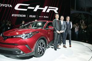 Toyota C-HR現身洛杉磯車展 各款CUV爭奪市場