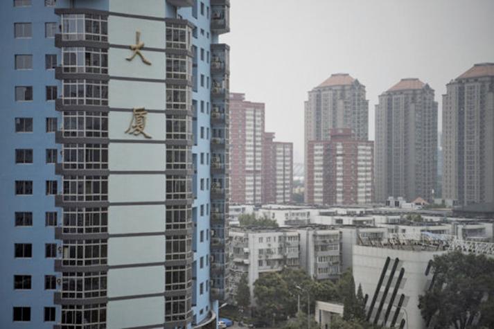 濟南10月份住宅銷售價格環比上漲3.4%,新房價格已連漲15個月。 (FRED DUFOUR/AFP)