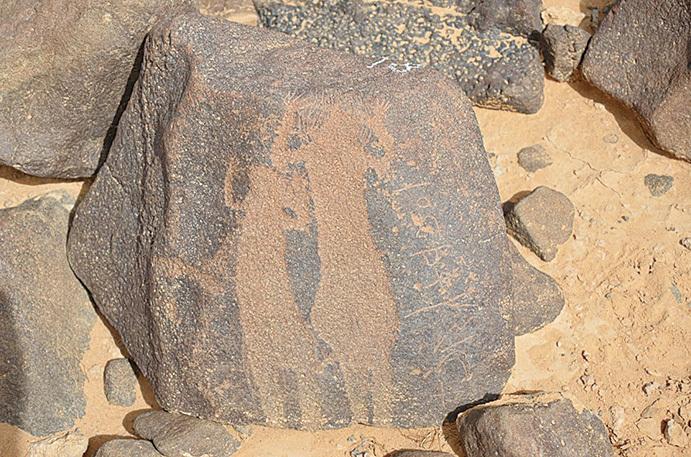 每一塊石頭都有約2千年的歷史。(網絡圖片)