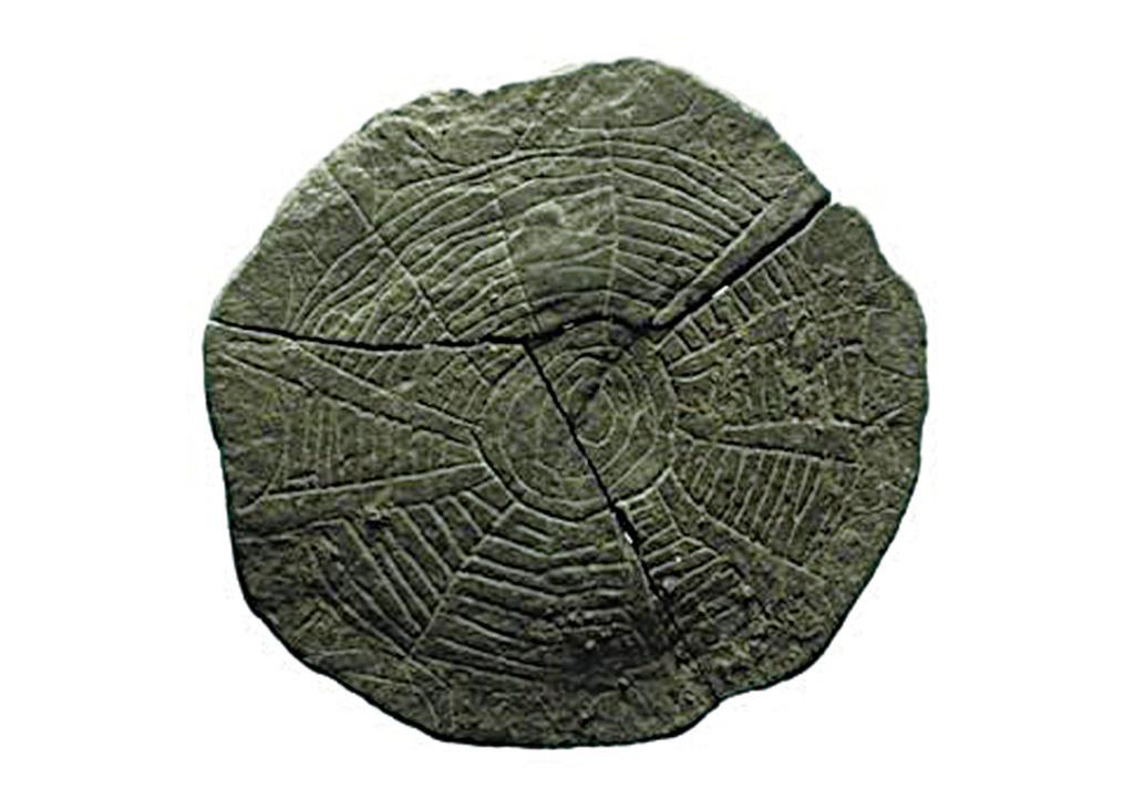 Kaul及其團隊確信石頭上的圖案是一幅遠古的地圖。(網絡圖片)