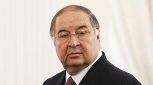 俄羅斯富豪烏斯馬諾夫