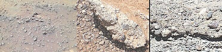 火星現奇特岩石 生命存在新證據?