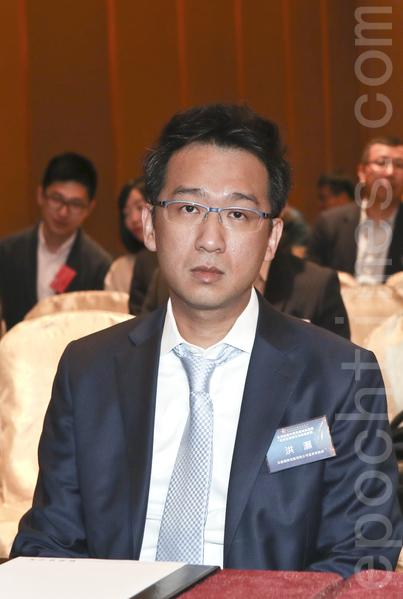 交銀國際研究部主管洪灝表示,中國的債市面臨巨大泡沫風險。(余鋼/大紀元)
