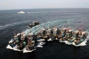 南韓海警採強硬措施 中國非法漁船驟減