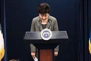 執政黨議員倒戈 朴槿惠將走上彈劾一途