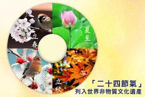 「二十四節氣」列入世界非物質文化遺產