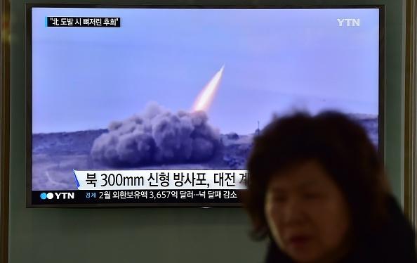 北韓最高獨裁者金正恩1月1日在發表新年賀詞時宣稱,北韓的洲際彈道導彈試射「已經進入收尾階段」。(AFP)