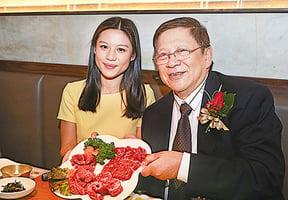 蕭若元獨家代理韓牛供港