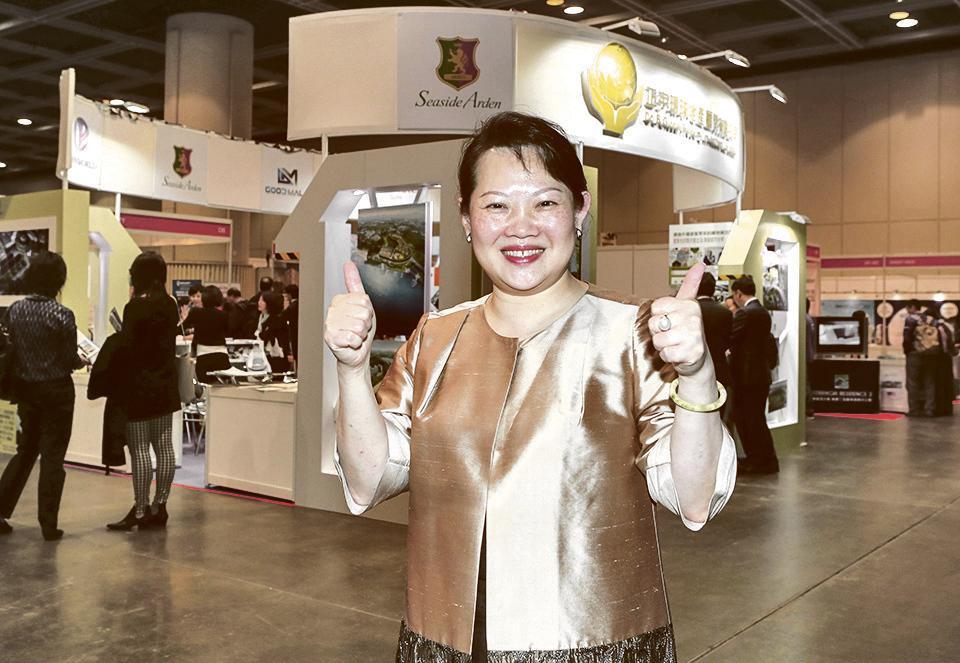 正宇環球董事長黃許多娜表示與香港、南韓大紀元的合作,給她的生意帶來新機。