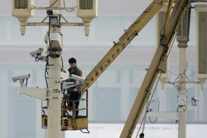 監控攝像頭遍及中國 涉不可告人的秘密(上)