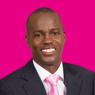 海地執政黨總統候選人莫伊斯(Jovenel Moise)。(Twitter擷圖)
