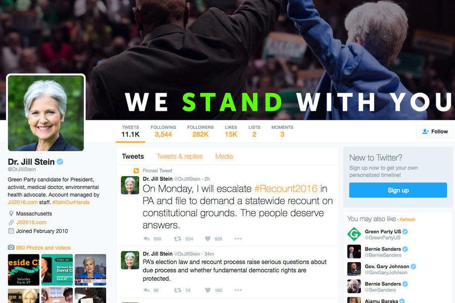 綠黨放棄賓州重新驗票 仍擬在紐約示威