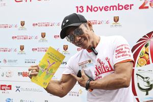 名健身教練杜德智簽名支持神韻來港演出