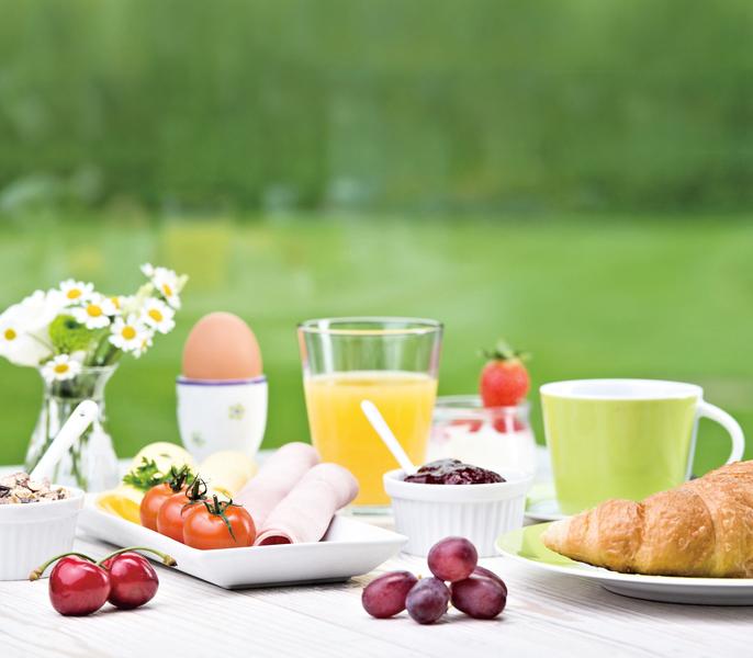 早晨的享受 美味輕食早午餐