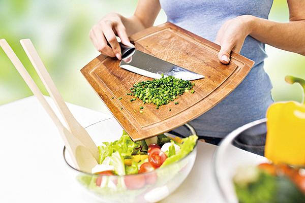沙律製作方便,可以跟多種早午餐搭配。