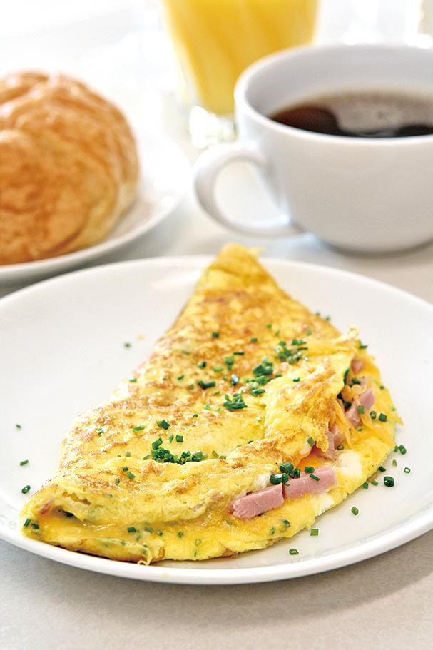 歐姆蛋的食材,可依自己喜好選擇。