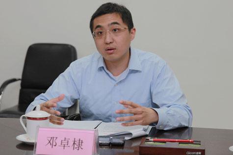 鄧小平的孫子鄧卓棣的動向一直備受關注。有消息說,鄧卓棣早在半年前已返回北京工作。(網絡圖片)