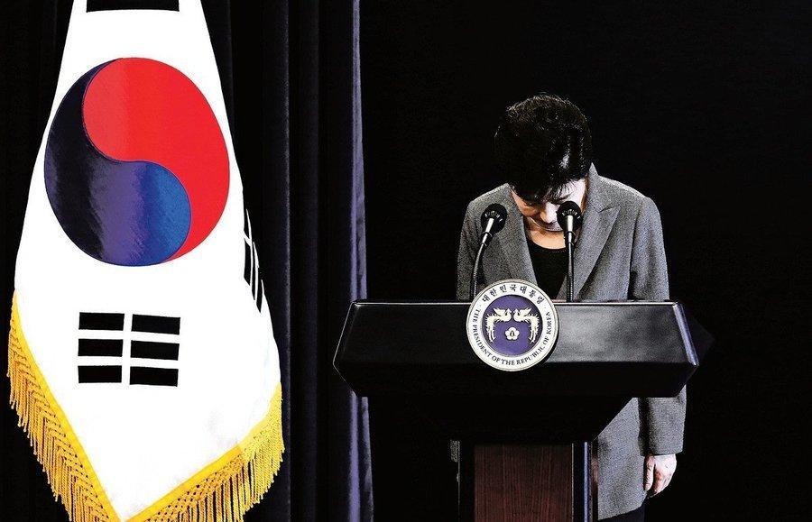 朴槿惠:若遭彈劾 四月下台六月總統大選