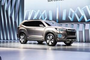 富士發表7人座SUV Viziv-7