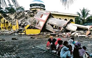 印尼亞齊規模6.5強震 近百人死亡
