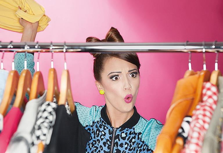 衣飾收納秘笈 幫時尚女性添創意