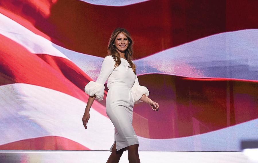 【時尚潮流】候任第一夫人梅蘭娜.特朗普把天橋台延伸到白宮