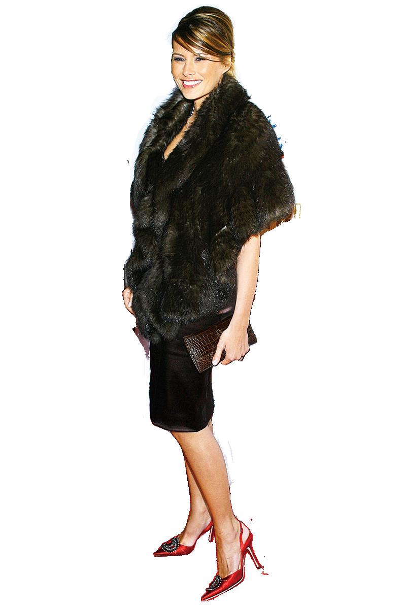 梅蘭娜經常出席各種時裝派對,對於時尚搭配駕輕就熟,也有自己獨特的時尚風格。