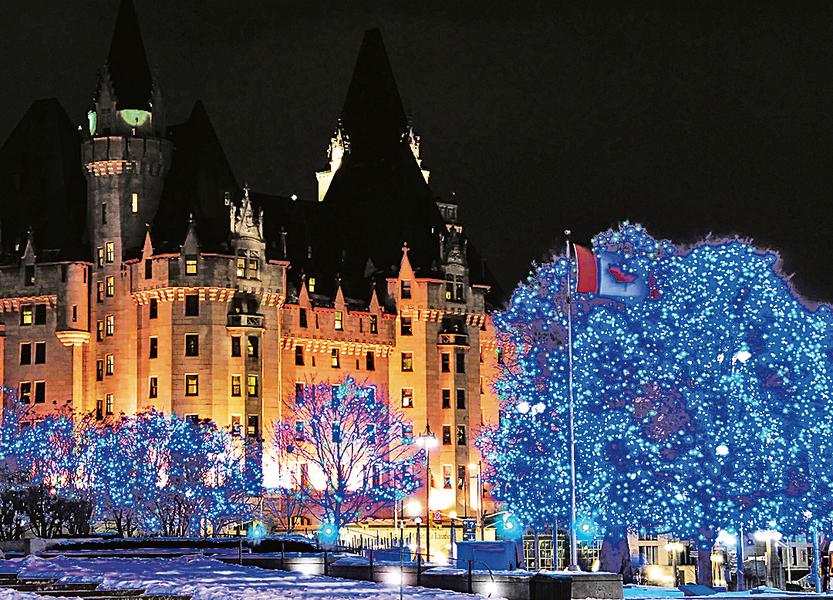迎聖誕 渥太華八千人參加點燈儀式