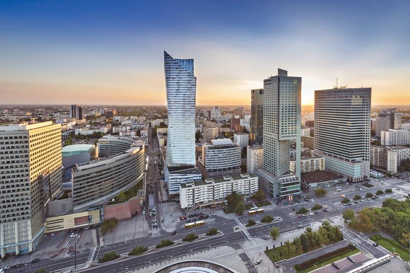 歐洲最高住宅大樓 華沙ZLOTA 44