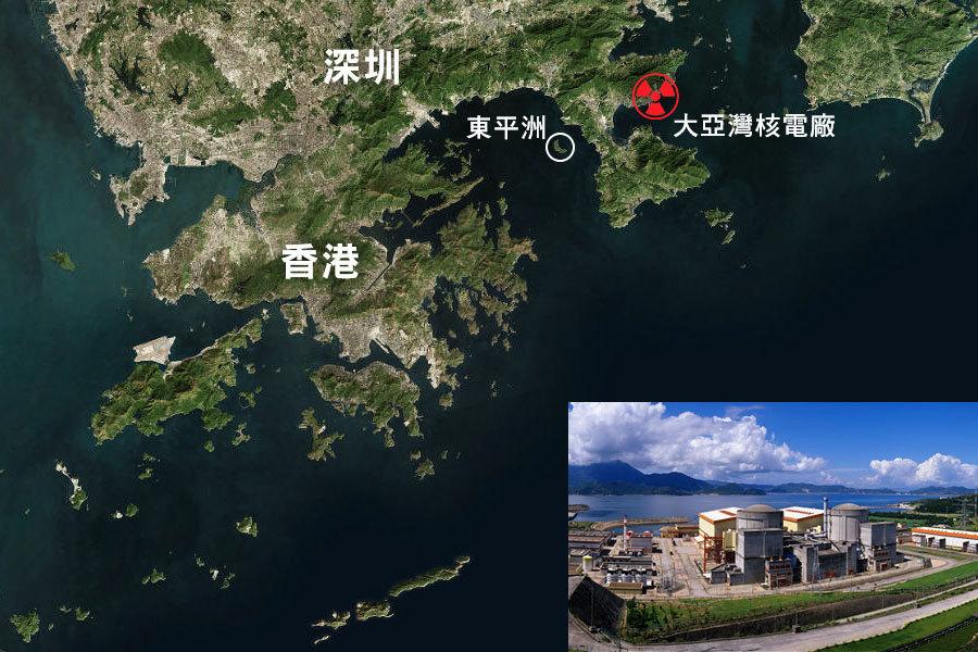 大亞灣核電廠驚傳洩漏事故 中共全面封鎖消息