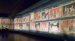 法國昂熱城堡內 預示末日的《啟示錄》壁毯