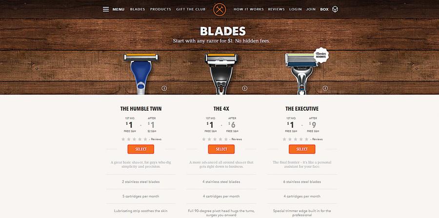 互聯網上做生意5年 剃鬚刀公司10億美元被收購