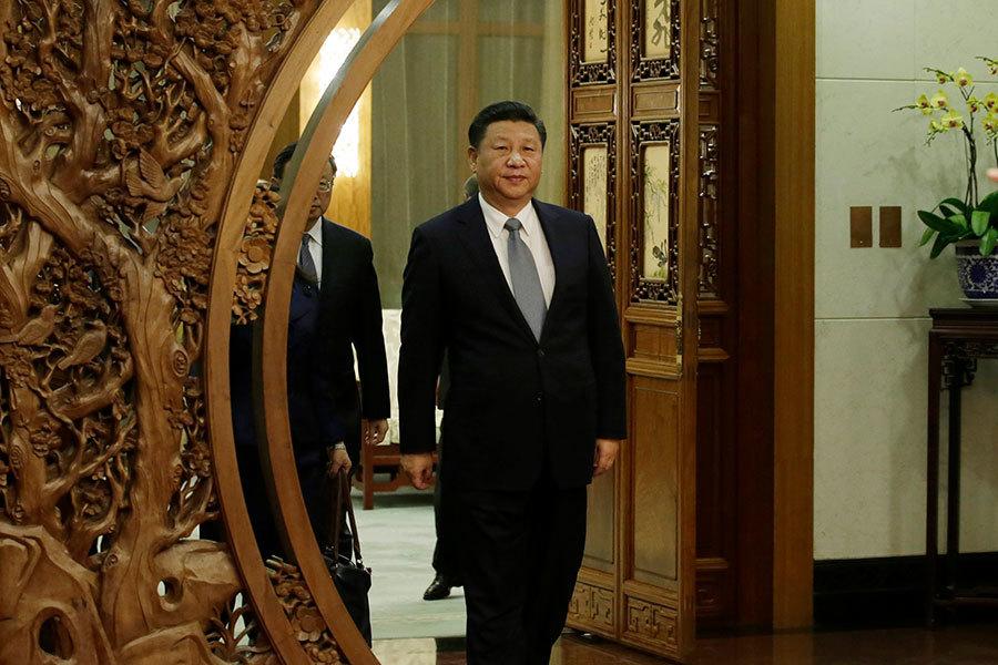 12月12日,第一屆全國文明家庭表彰大會在北京舉行。習近平在會上大談中華民族傳統家庭美德和家風。(Jason Lee - Pool/Getty Images)